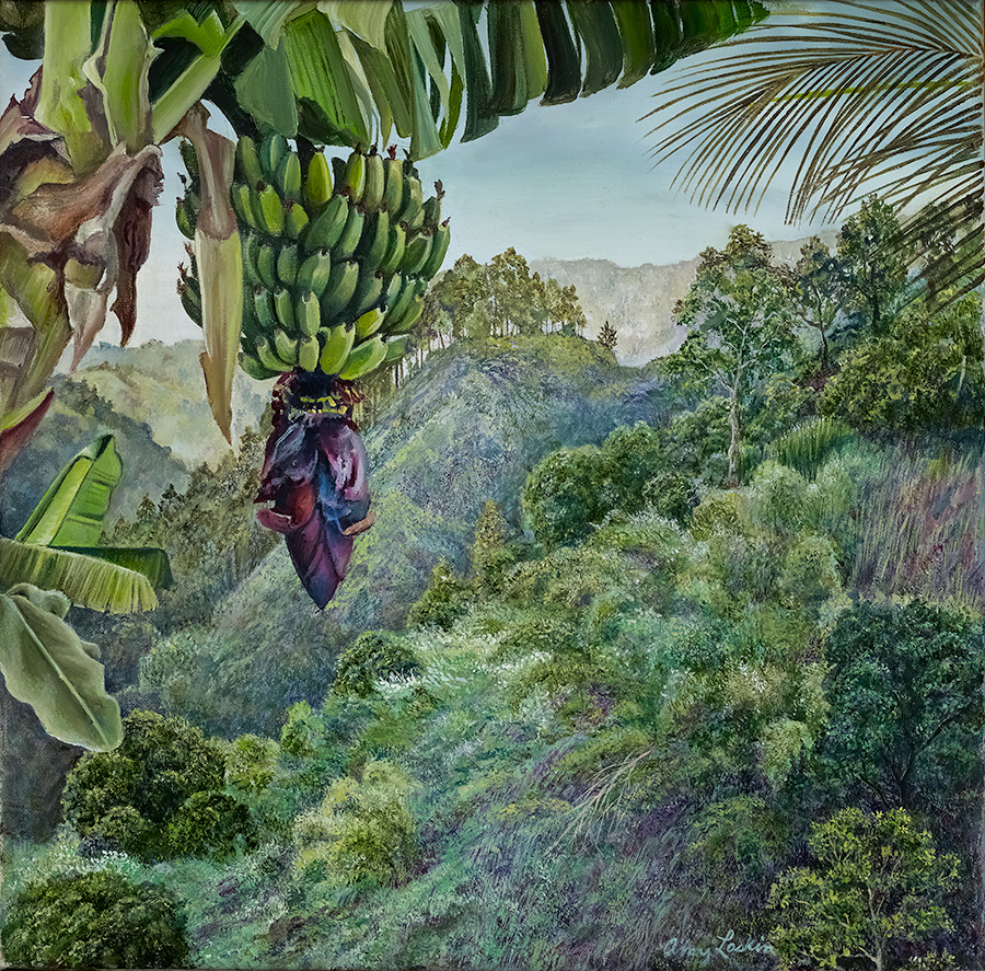 Franz landscape with bananas